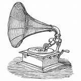Phonograph Drawing Addison Karl Drawings Tattoo Ink Gramophone Sketch Tocadiscos Pen Sketches Record Player Fineartamerica Dibujos Cool Recording Stethoscope Records sketch template