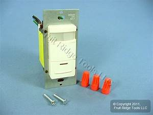 Leviton Lt Almond Pir Motion Sensor Occupancy Switch