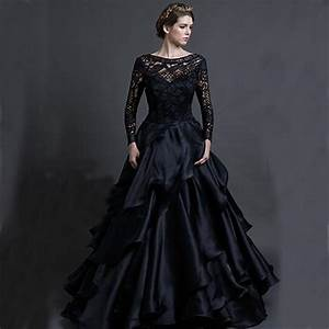 vintage black wedding dresses oasis amor fashion With black wedding dresses cheap