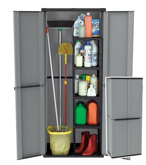 Plastic Cupboard For by Plastic Garden Storage Cupboard Outdoor Sheds Garages