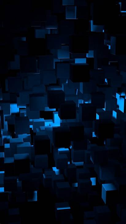 Abstract Dark Iphone Pattern Cube Wallpapers Android