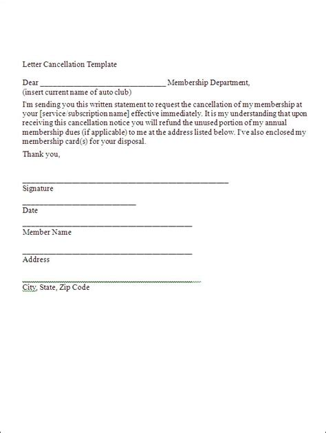 letter of termination sle letter to cancel merchant services 19 free 8282