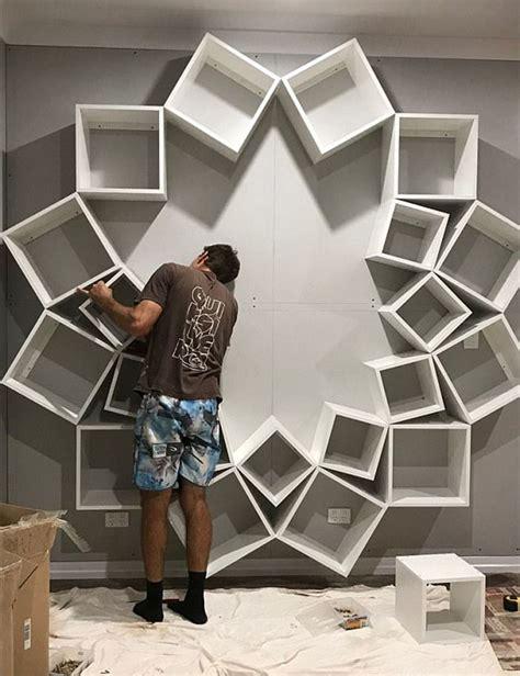 couple   diy bookshelf design
