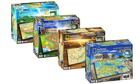 National Geographic 4d Puzzles  Groupon Goods