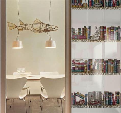 fornasetti piastrelle libreria design piero fornasetti ceramica bardelli