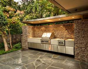 Outdoor grilling area. Harold Leidner Landscape Architects ...