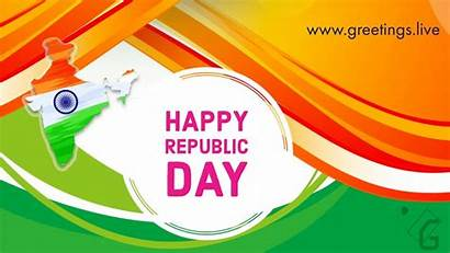 Republic Indian India Greetings App Animation Collections