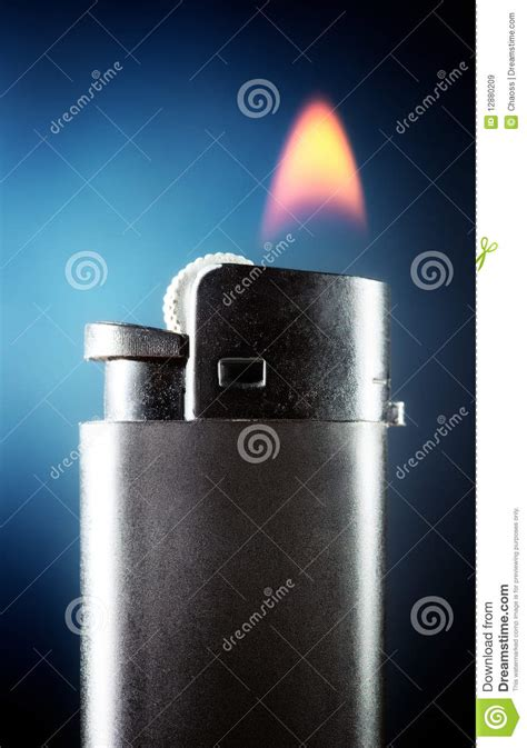 lighter  burning flame royalty  stock images