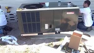 Ac Package Equipment  Goodman System Install