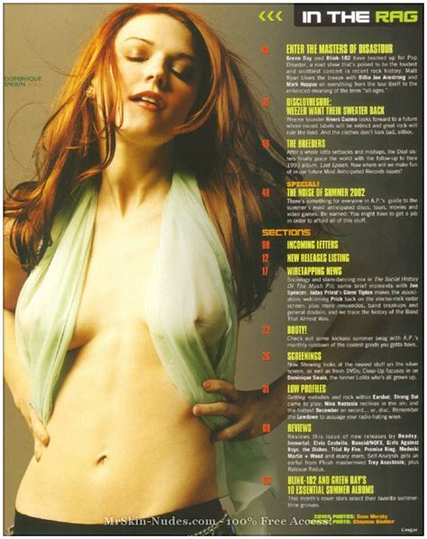 Dominique Swain Naked Celebrity Photos Nude Celeb