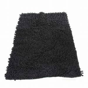 Tapis Antidérapant Salle De Bain : tapis de salle de bain 50x80cm noir ~ Farleysfitness.com Idées de Décoration