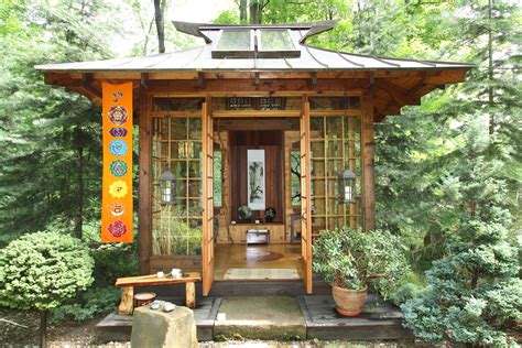 japanese tea houses reminiscent  authentic rustic