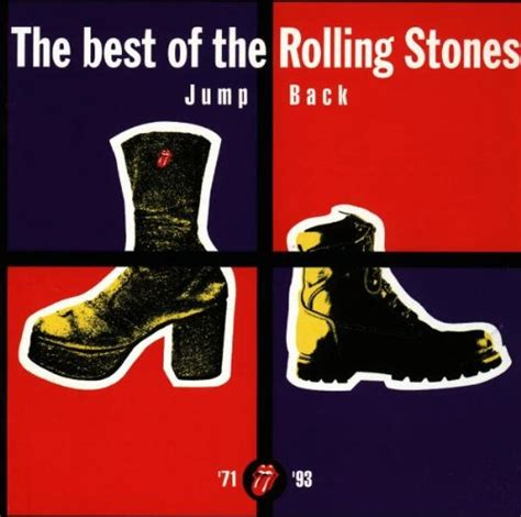 Rolling Stones Best Of Jump Back The Best Of The Rolling Stones 1971 1993 Album