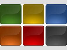 Free vector graphic Button, Square, Glossy, Shiny Free