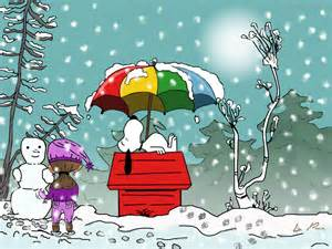 Peanuts Snoopy Winter