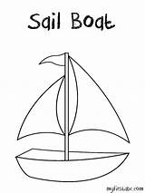 Coloring Sailboat Boat Sails Template Pages Sheet Templates 958px 88kb Getcoloringpages sketch template