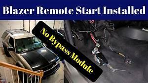 Zr2 S10 Blazer Remote Start Install