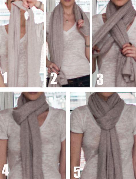 stylish  easy ways  tie  scarf fashionsycom