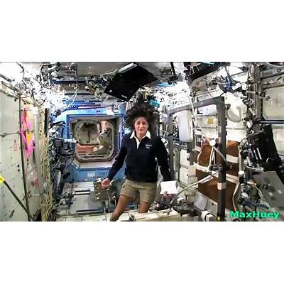 A Cool and Candid Look Inside the International Space