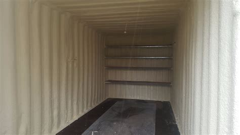 insulation container shipping foam spray