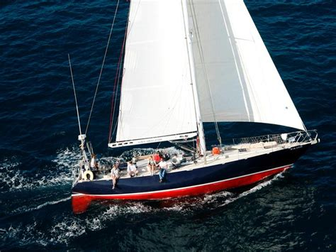 Sailboats For Rent by Rent German Frers Sailboat 65665 Inautia