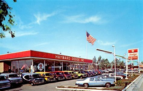 Hayward Dodge, Hayward Ca, 1970s  24773 Mission Blvd
