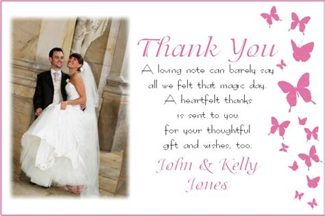 wedding thank you cards what to write wedding thank you card thank you cards memory moments