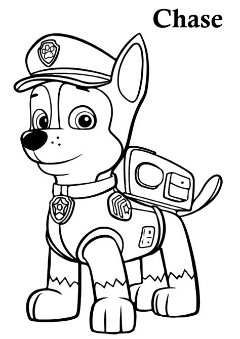 32 Paw Patrol Coloring Pages: PrintablePrint Color