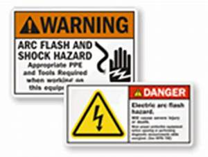 safety labels warning labels caution labels from With arc flash labels explained