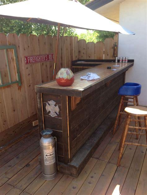 25 best ideas about deck bar on patio bar