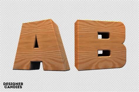 wooden lettering pack designercandies