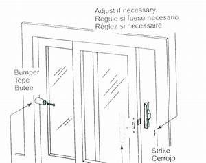 Glass Door Parts Diagram