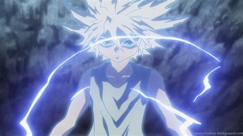 Anime Lightning Wallpaper - killua godspeed wallpapers desktop background