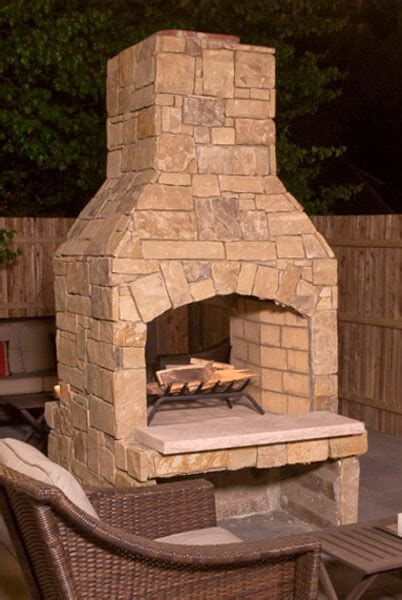 outdoor fireplace kit standard series  easy