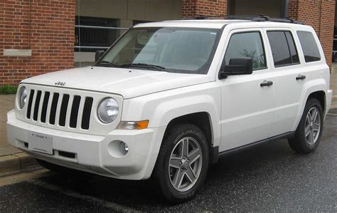 jeep commander vs patriot jeep patriot wikipedia
