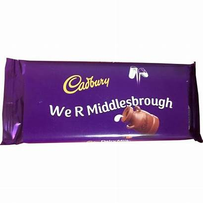 Middlesbrough Chocolate Bar