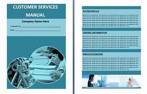 customer services manual template free manual templates With customer service manual template