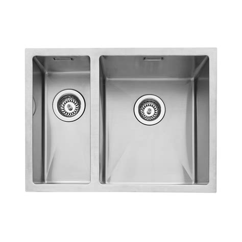 small bowl kitchen sink caple mode 150 inset 1 5 bowl left sink sinks taps 8009