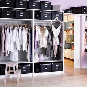 Petite Penderie Ikea : dressing ikea blanc ~ Teatrodelosmanantiales.com Idées de Décoration