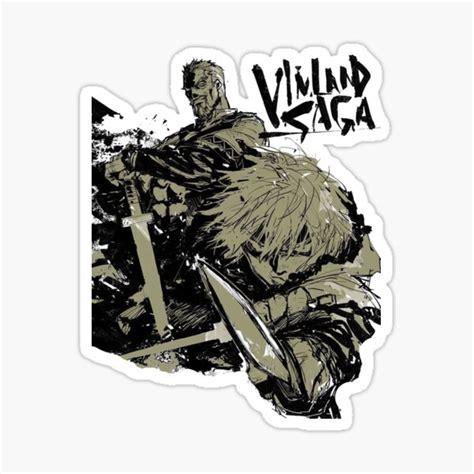vinland saga stickers redbubble