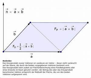 Betrag Vektor Berechnen : normalenvektor kreuzprodukt ~ Themetempest.com Abrechnung