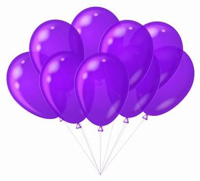 Balloons Purple Transparent Clipart Balloon Clip Birthday