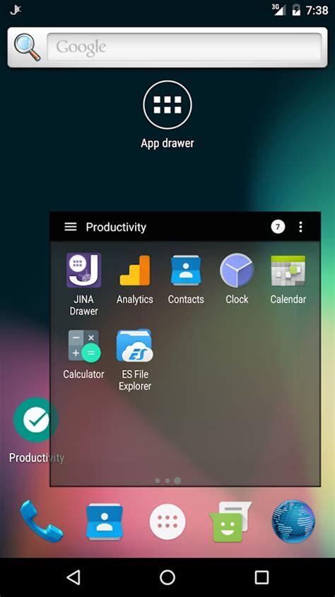 app drawer organizer jina app drawer sidebar android apps on play