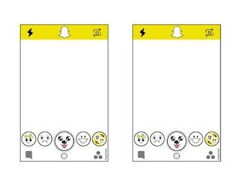 Snapchat Filter Template Snapchat Template Editable With Powerpoint By Cheeky