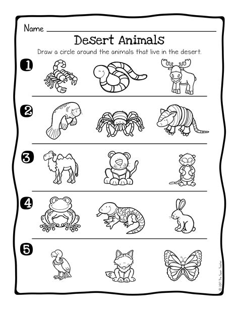 animal habitats science activity and worksheets the super teacher