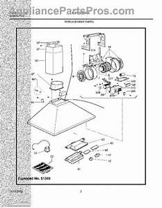 Parts For Electrolux Plhv36w6cc  Replacement Parts