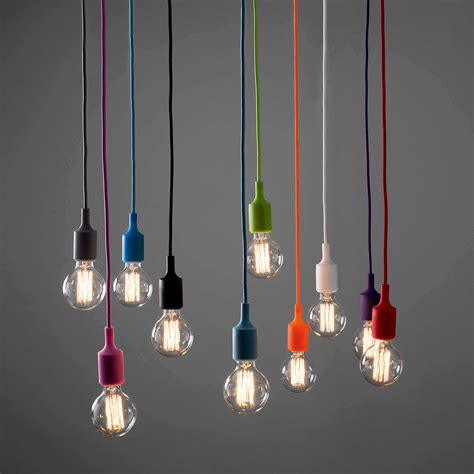modern ceiling fabric cable pendant l holder light