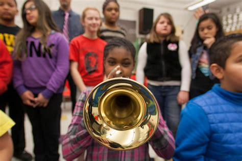 Lowincome Kids Benefit From Music Class, Show Greater