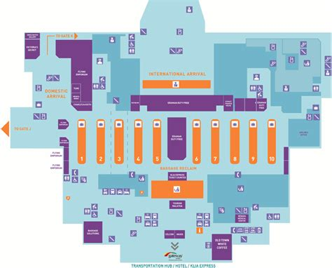 klia layout plan  guide