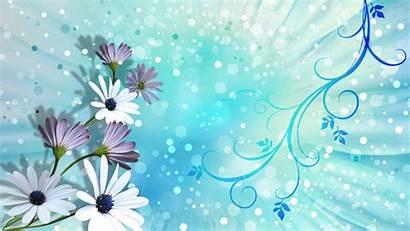 Aqua Wallpapers Flower Summer Aquamarine Purple Wiki